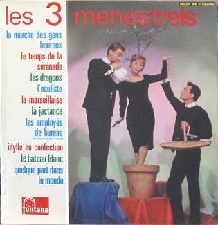 Les trois Menestrels