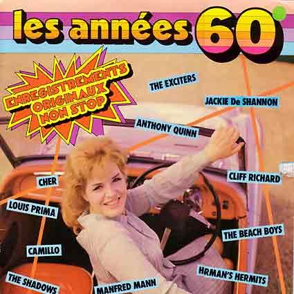 Pochette de disque : Les années soixante