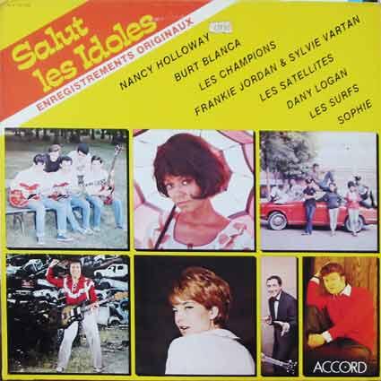 Pochette de disque : Salut les idoles