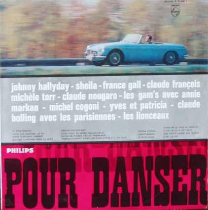 """Pochette de disque : Compilation """"Pour danser Morris MGB"""""""