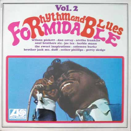 """Pochette de disque : compilation """"Formidable"""""""