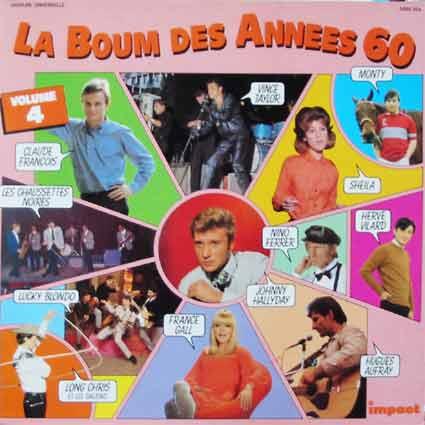 Pochette de disque : La boum des années soixante