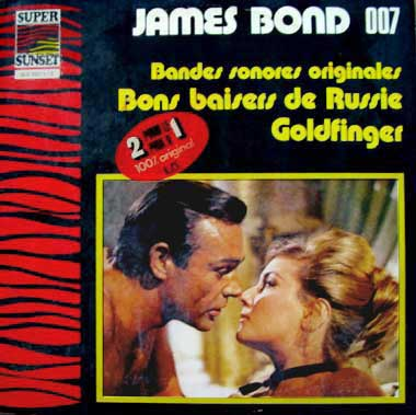"Musique de fims  ""James Bond 007"""