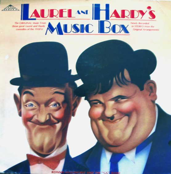Laurel and Hardy music box