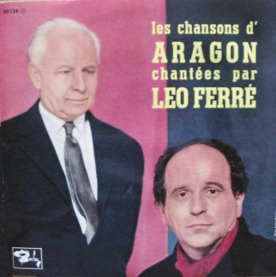 Disque 25 cm de Léo Ferré