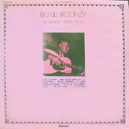 Disque de Big Bill Broonzy