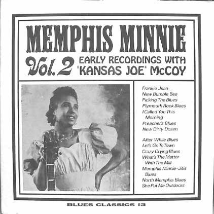 Disque de Memphis Minnie