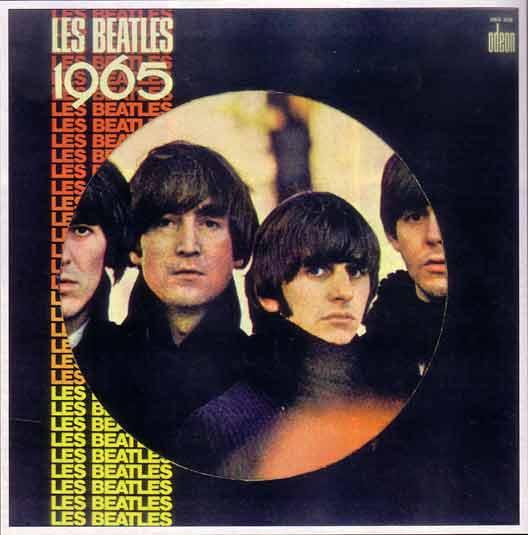 """Disque """"Les Beatles 65"""""""