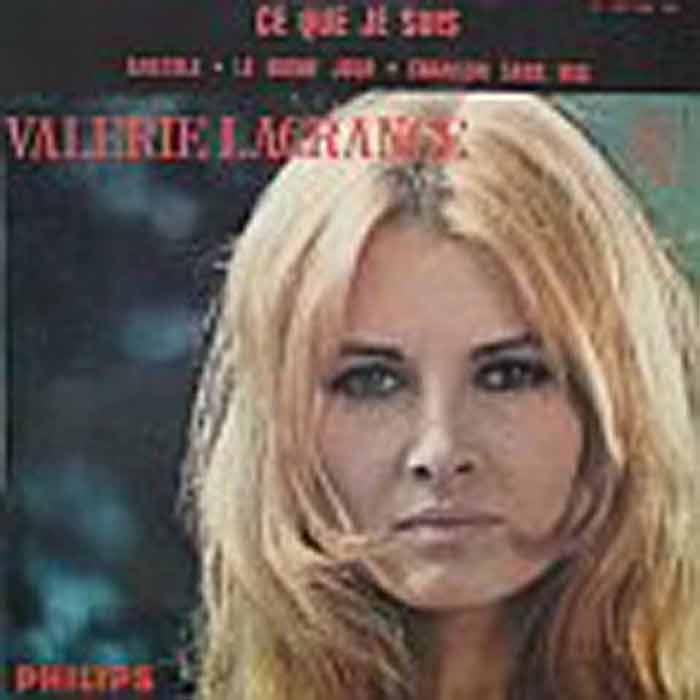"""Disque de Valérie Lagrange """"Ce que je suis"""""""