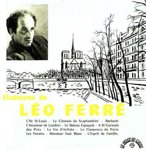 Premier disque vinyle de Léo Ferré