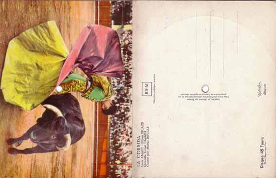 Carte postale 2 : la corrida