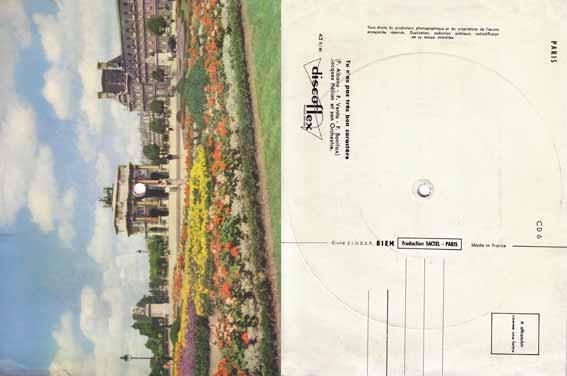 Carte postale sonore 4 : l'Arc de Triomphe du Carrousel (Paris)