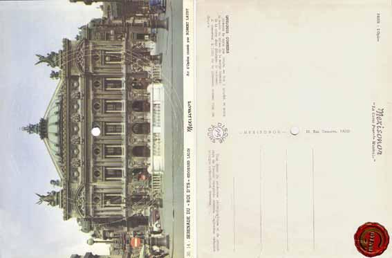 Carte postale sonore no 6 : l'Opéra de Paris