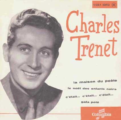 Disque 45 tours de Charles Trénet