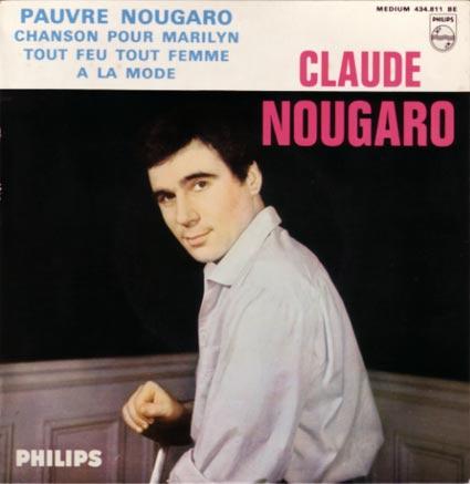 Disque 45 tours de Claude Nougaro