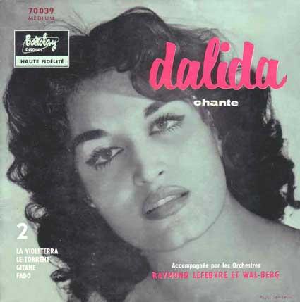 Disque 45 tours de Dalida