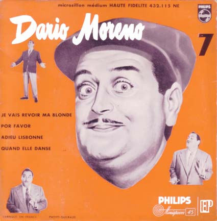 Disque 45 tours de Dario Moréno