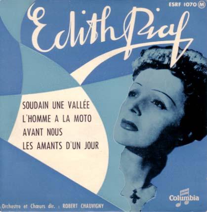 Disque d'Edith Piaf
