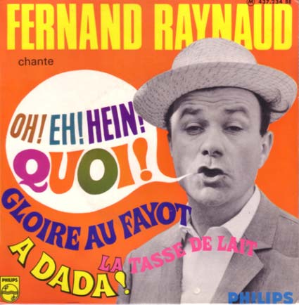 Disque 45 tours de Fernand Raynaud