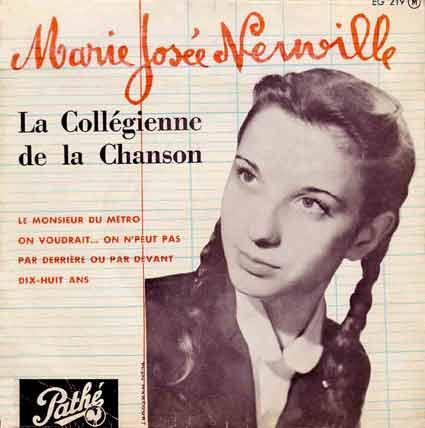 Disque 45 tours de Marie-Josée Neuville