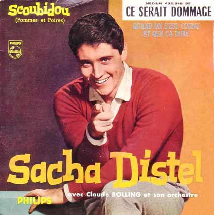 Disque 45 tours de Sacha Distel