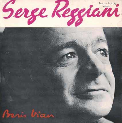 Disque 45 tours de Serge Reggiani