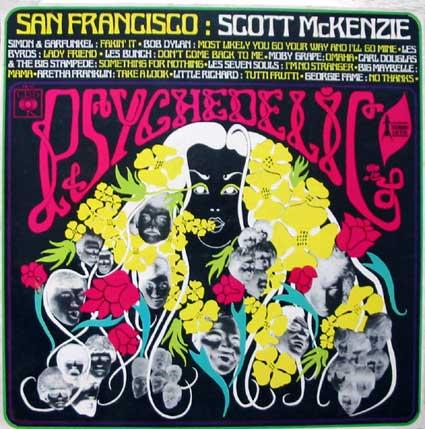 Pochette de disque : Psychedelic