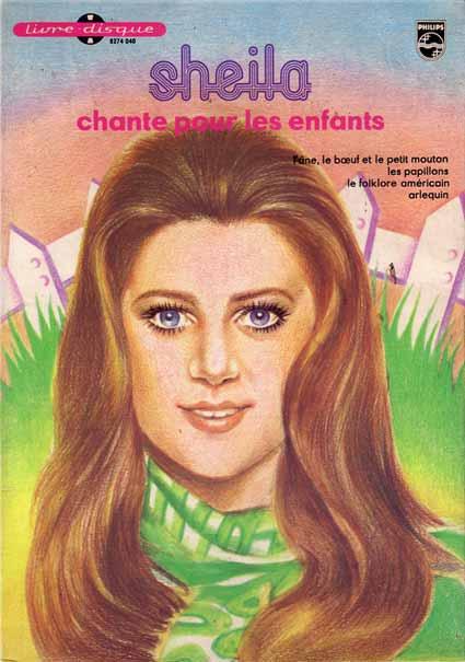 Livre disque de Sheila