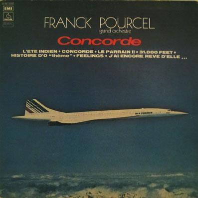 """Album """"Concorde"""" de Frank Pourcel"""