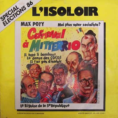 Max Poty, chansonnier de 1986...
