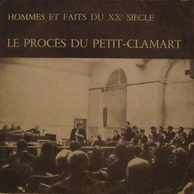 Vinyle sur le procès du Petit-Clamart
