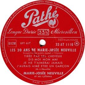 Disques vinyles 33 tours 25 cm n 9 - Collectionneur de disque vinyl 33 tours ...