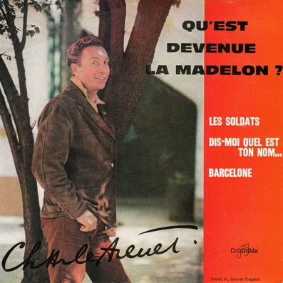 45 tours EP de Charles Trenet