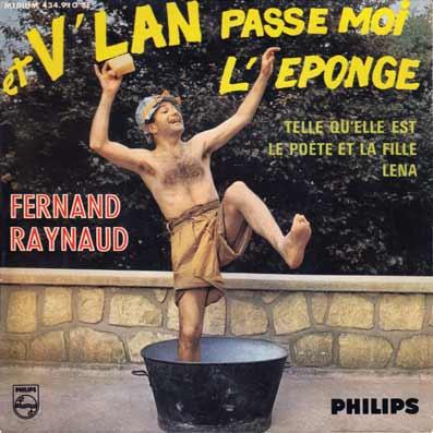 45 tours EP de Fernand Raynaud