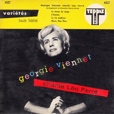 45 tours EP de Geogie Viennet