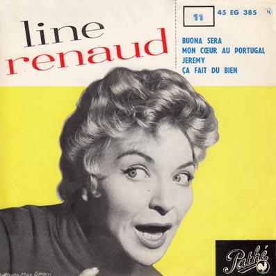 45 tours EP de Line Renaud