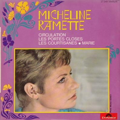 45 tours EP de Micheline Ramette