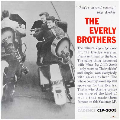 Album vinyle des Everly Brothers