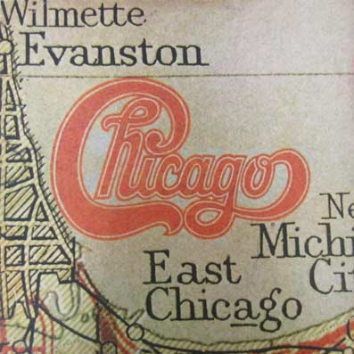 Album vinyle du groupe Chicago