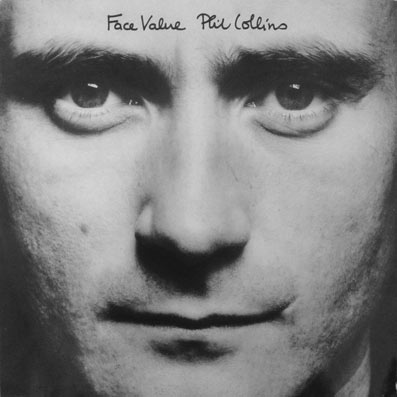 Album vinyle de Phil Collins