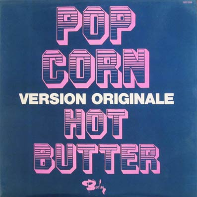 Album vinyle du groupe Hot Butter