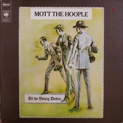 Album vinyle du groupe Mott the Hoople
