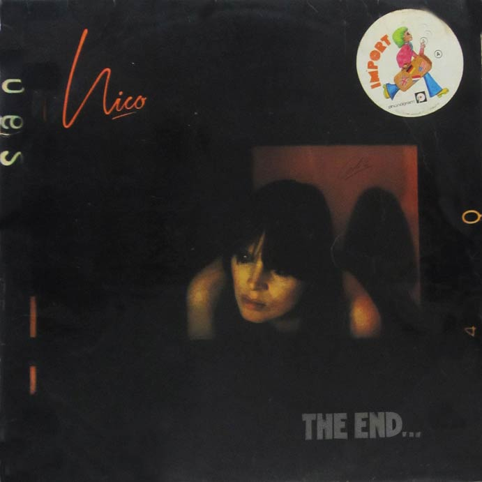 Album vinyle de Nico