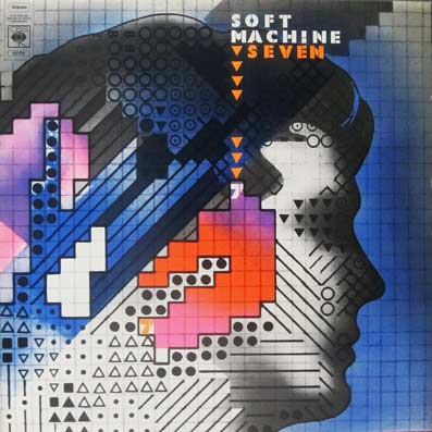 Album vinyle du groupe Soft Machine