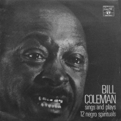 Album vinyle de Bill Coleman