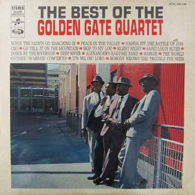 Album vinyle du Golden Gate Quartet
