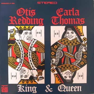 Album vinyle d'Otis Reddin et Carla Thomas