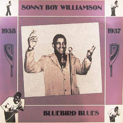 Album vinyle de Sonny Boy Williamson