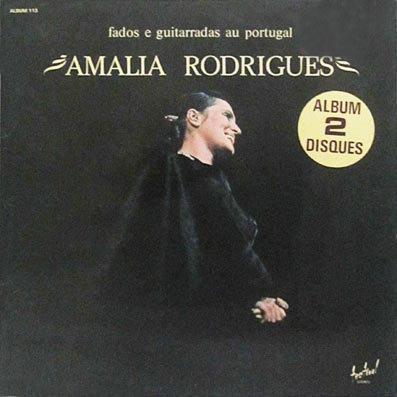 vinyle d'Amalia Rodrigues