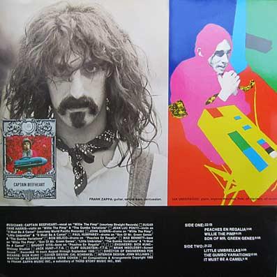 Huit Albums De Frank Zappa Et Des Mothers Of Invention